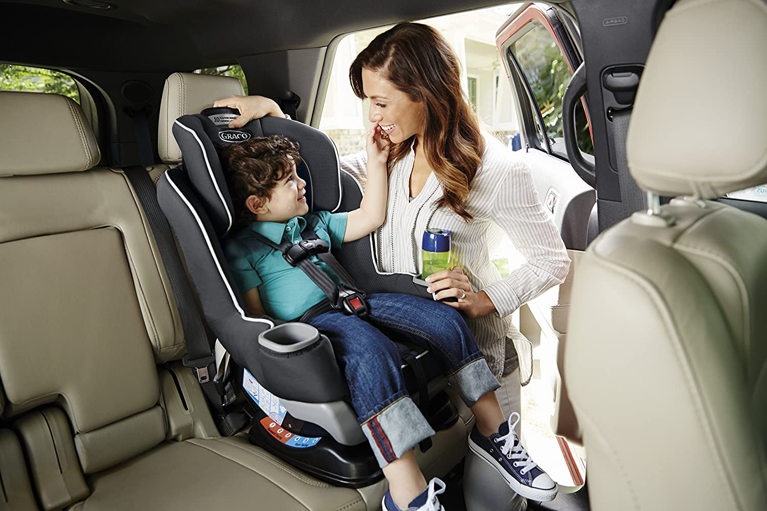 Graco Extend2Fit Convertible Car Seat Gotham One Size ColorGotham