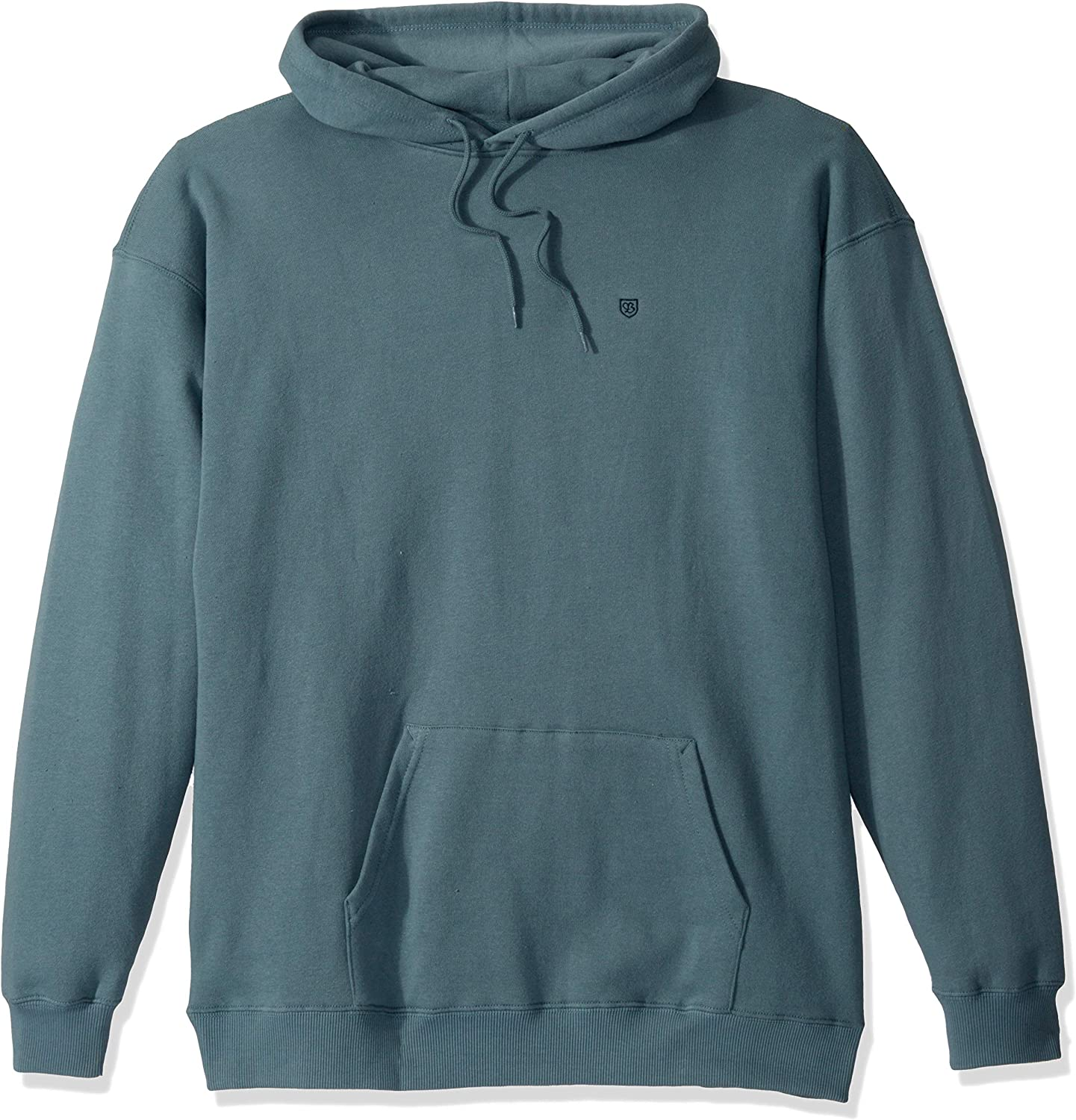 Brixton Mens B-Shield Relaxed Standard FIT Hood Fleece