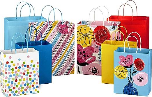 Amazon.com: Hallmark Bolsas de regalo grandes surtidas con ...