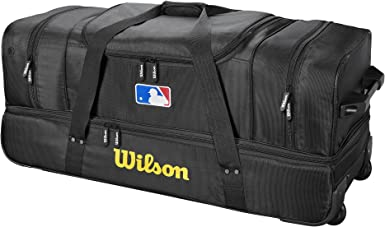 Amazon Com Wilson Sporting Goods Umpire Bag Black Sports Outdoors