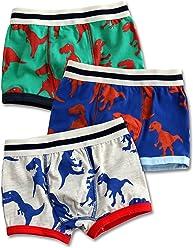 8525ce8224 Vaenait baby 2T-7T Toddler Kids Boys Underwear Boxer Briefs 3-Pack Set Boxer
