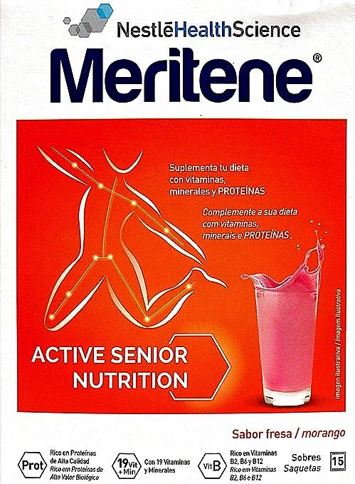 MERITENE FRESA 15 SOBRES: Amazon.es: Salud y cuidado personal