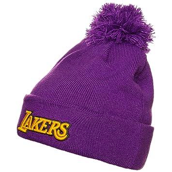 adidas NBA Los Angeles Lakers beanie hat - Purple ab2112872db