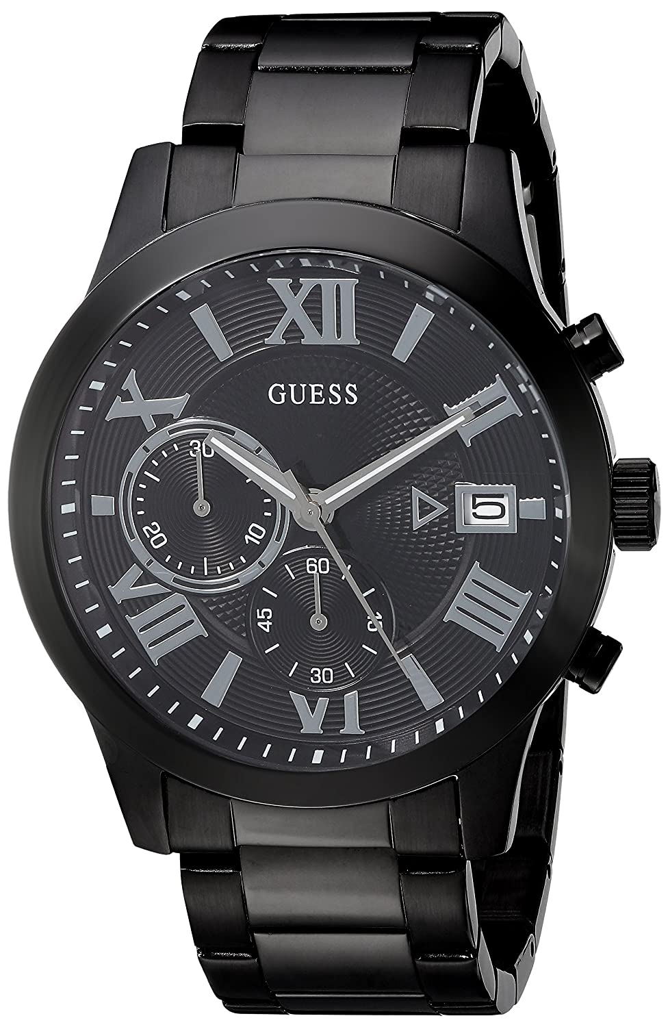 Guess Men S Stainless Steel Two Tone Casual Watch