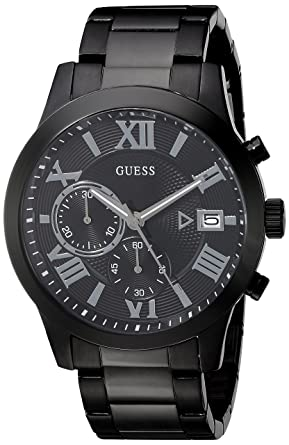 Image result for GUESS Men's Stainless Steel Two-Tone Casual Watch