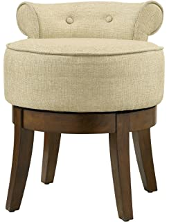 tufted stool chair impressions antoinette back co design with swivel round vanity home