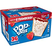 36-Count Pop-Tarts Breakfast Toaster Pastries Frosted Strawberry Flavored (66 oz)