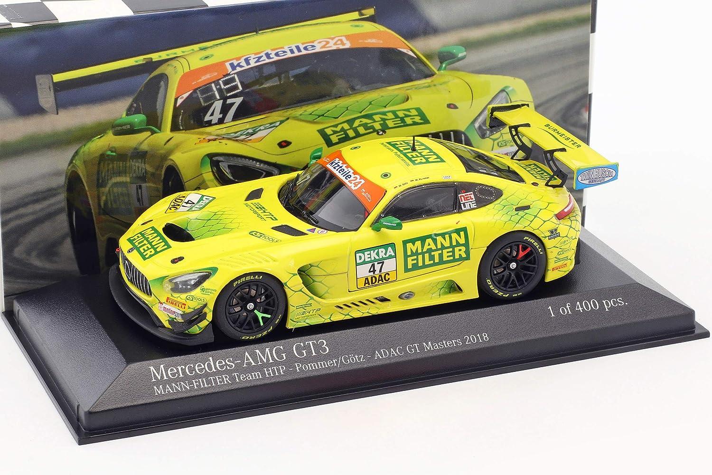 Minichamps Mercedes-Benz AMG GT3  47 ADAC GT Masters 2018 Pommer, Götz 1:43