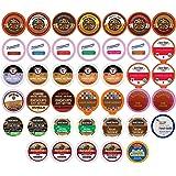 Flavored Coffee Single Serve Cups For Keurig K cup Brewers Variety Pack Sampler, 40 count (Flavored Sampler)