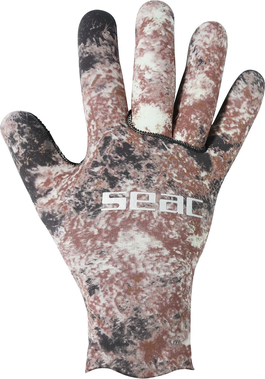 SEAC Python 2mm Ultraflex 200 Gloves, Camo : Diving Gloves : Sports & Outdoors