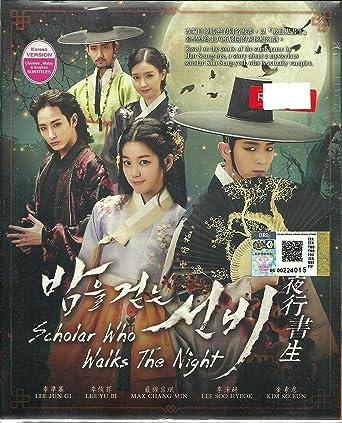 Amazon com: SCHOLAR WHO WALKS THE NIGHT - COMPLETE KOREAN TV