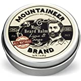 Magic Beard Balm by Mountaineer Brand: All Natural Beard Conditioning Balm (Lime & Sage)