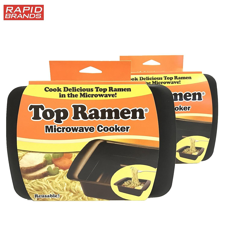 Amazon Top Ramen Rapid Cooker 2 Pack Microwave Ramen In 3