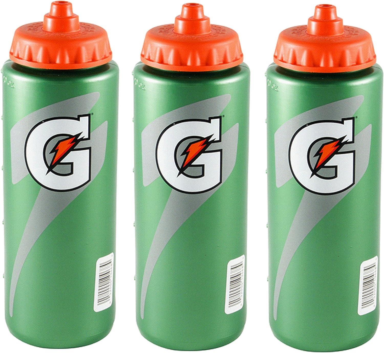 1 SET OF 30 EACH Official Gatorade 20 fl oz Squeeze Sports Drink Water Bottle