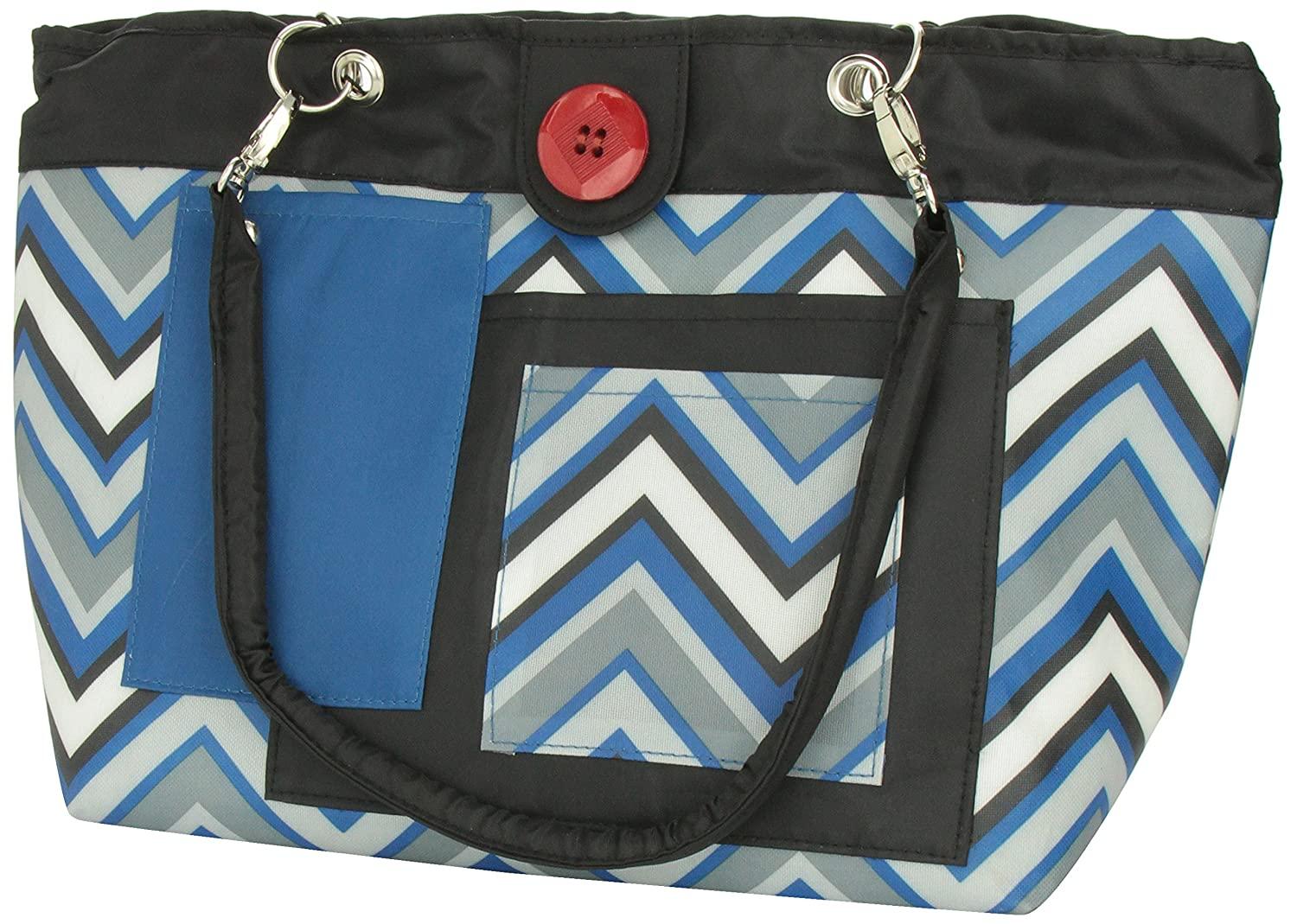 Amazon 2 Red Hens Rooster Diaper Bag Blue Chevron Diaper