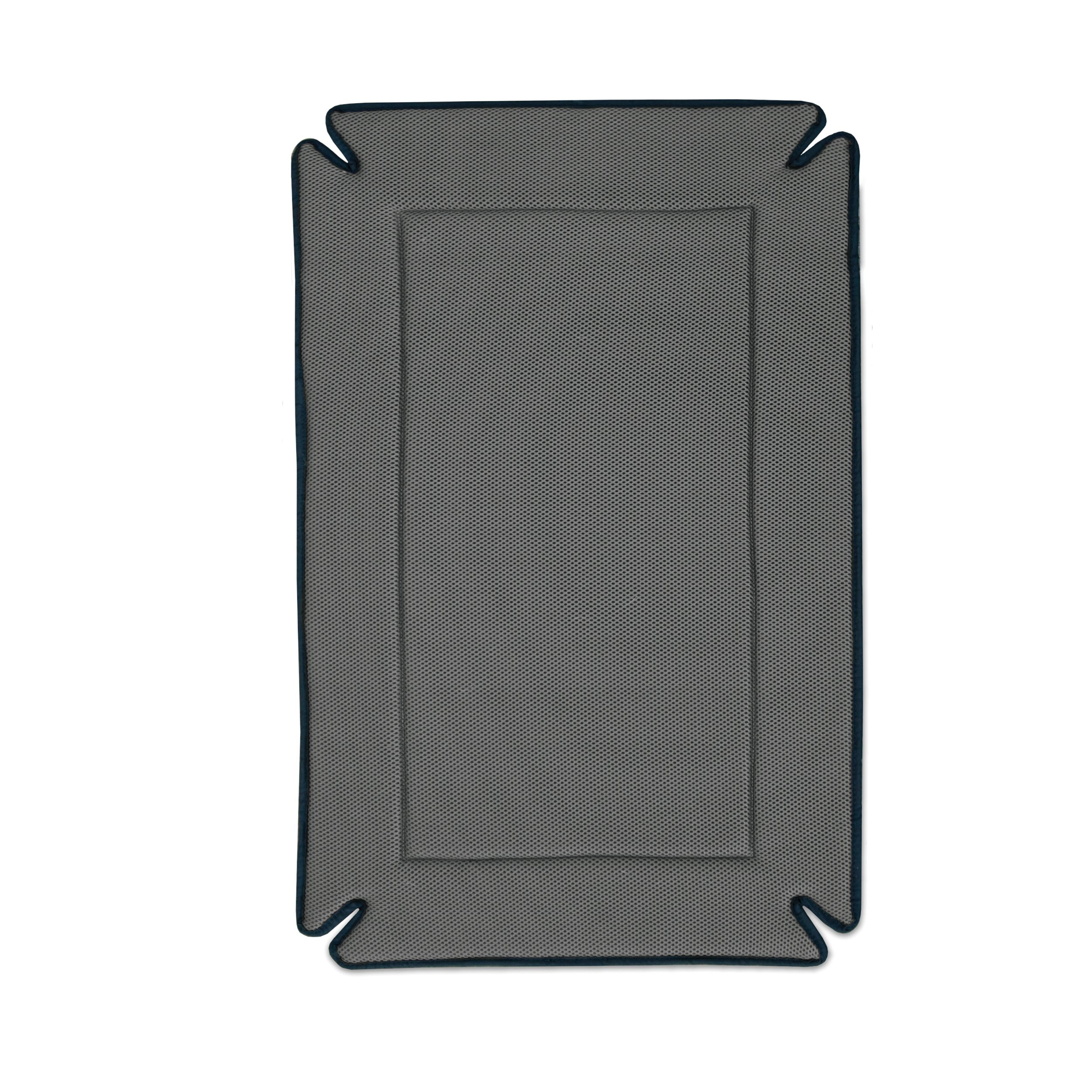 K&H Pet Products Odor-Control Crate Pad Large Gray 25'' x 37''