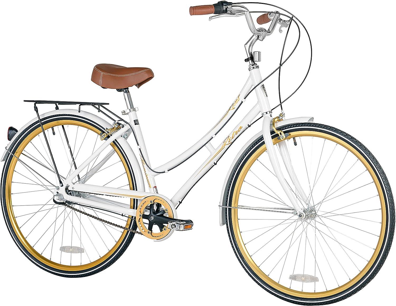 Kent Retro de la Mujer Ciudad para Bicicleta, 700 C: Amazon.es: Deportes y aire libre