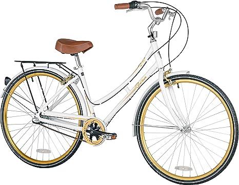 Kent Retro de la Mujer Ciudad para Bicicleta, 700 C: Amazon.es ...