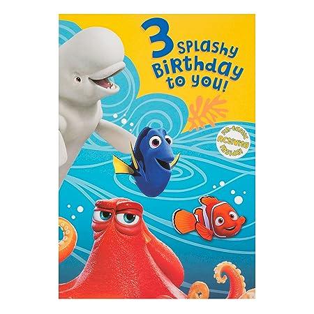 Hallmark Findet Dory Geburtstagskarte Zum Ausmalen 3 Geburtstag