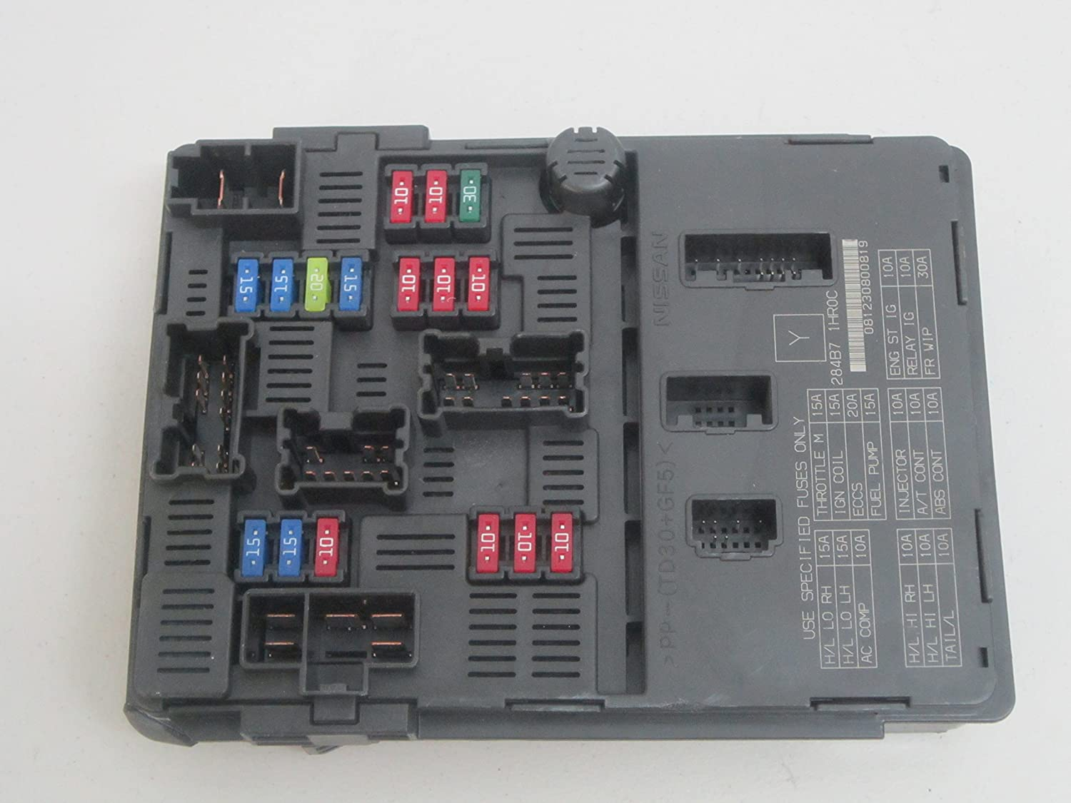Amazon.com: 12 13 14 NISSAN VERSA FUSE BOX BODY CONTROL PP-TD30-GF5: Car  Electronics