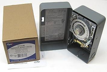 amazon com supco s8141 00 complete commercial defrost timer supco s8141 00 complete commercial defrost timer replaces paragon 8141 00