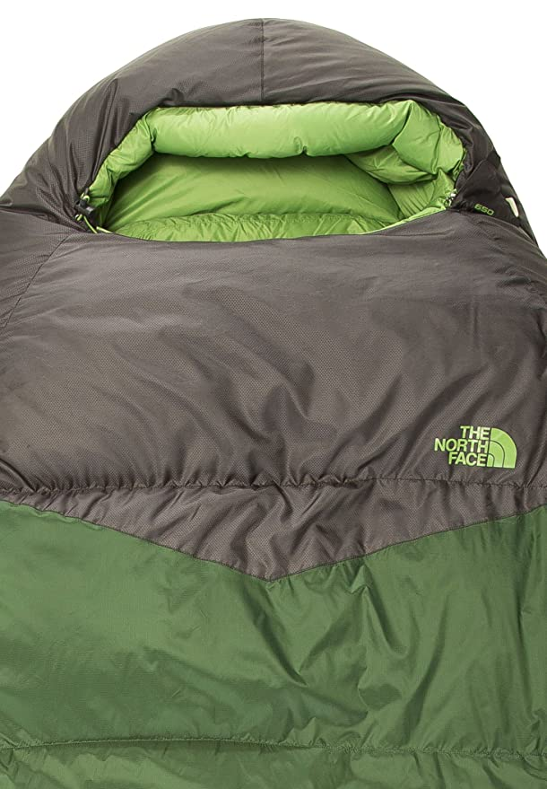 The North Face Green Kazoo Saco de Dormir, Cierre Derecho, Unisex Adulto, Verde (grnrpstrs/aspgy), Regular - RH: Amazon.es: Deportes y aire libre