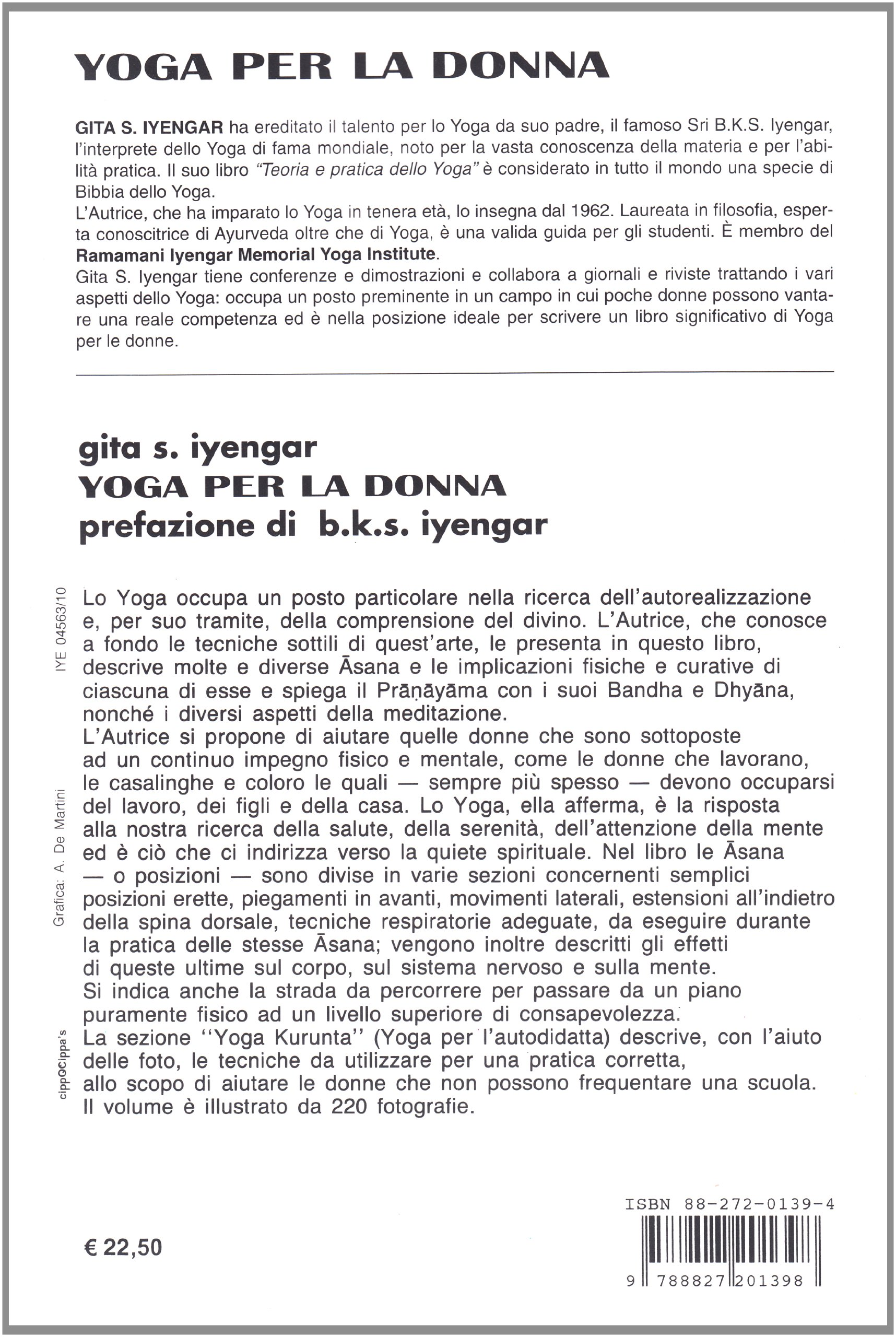 GITA IYENGAR - YOGA PER LA DO: Geeta S. Iyengar ...