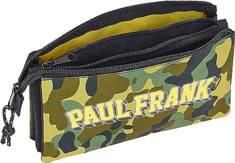Paul Frank Camo Oficial Estuche Escolar 220x30x100mm: Amazon.es: Oficina y papelería