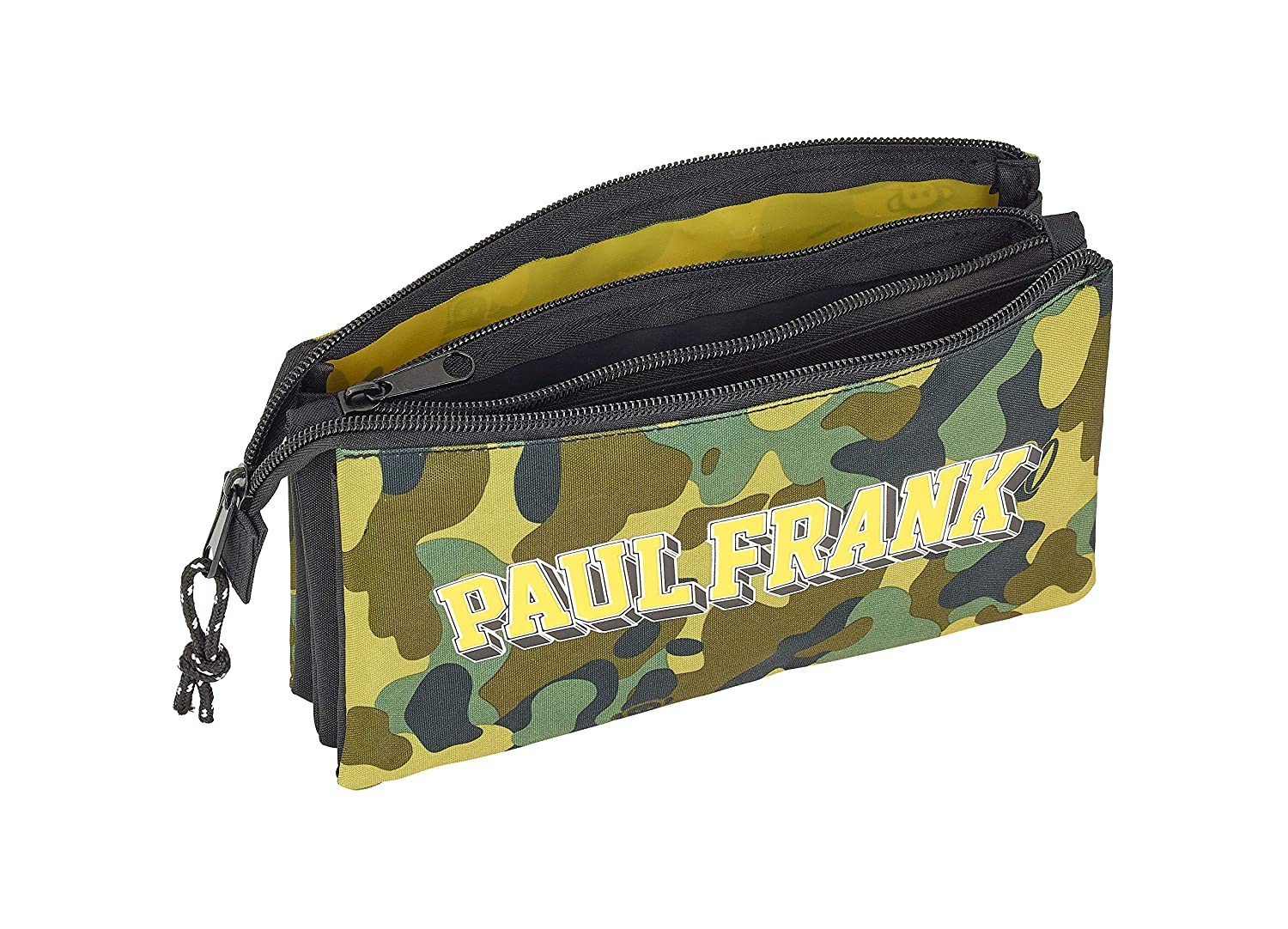 Paul Frank Camo Oficial Estuche Escolar 220x30x100mm: Amazon ...