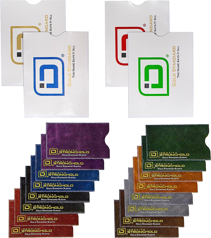 UK STOCK PACK OF 10 RFID Card Sleeve Wallet Blocking Protector Debit Credit