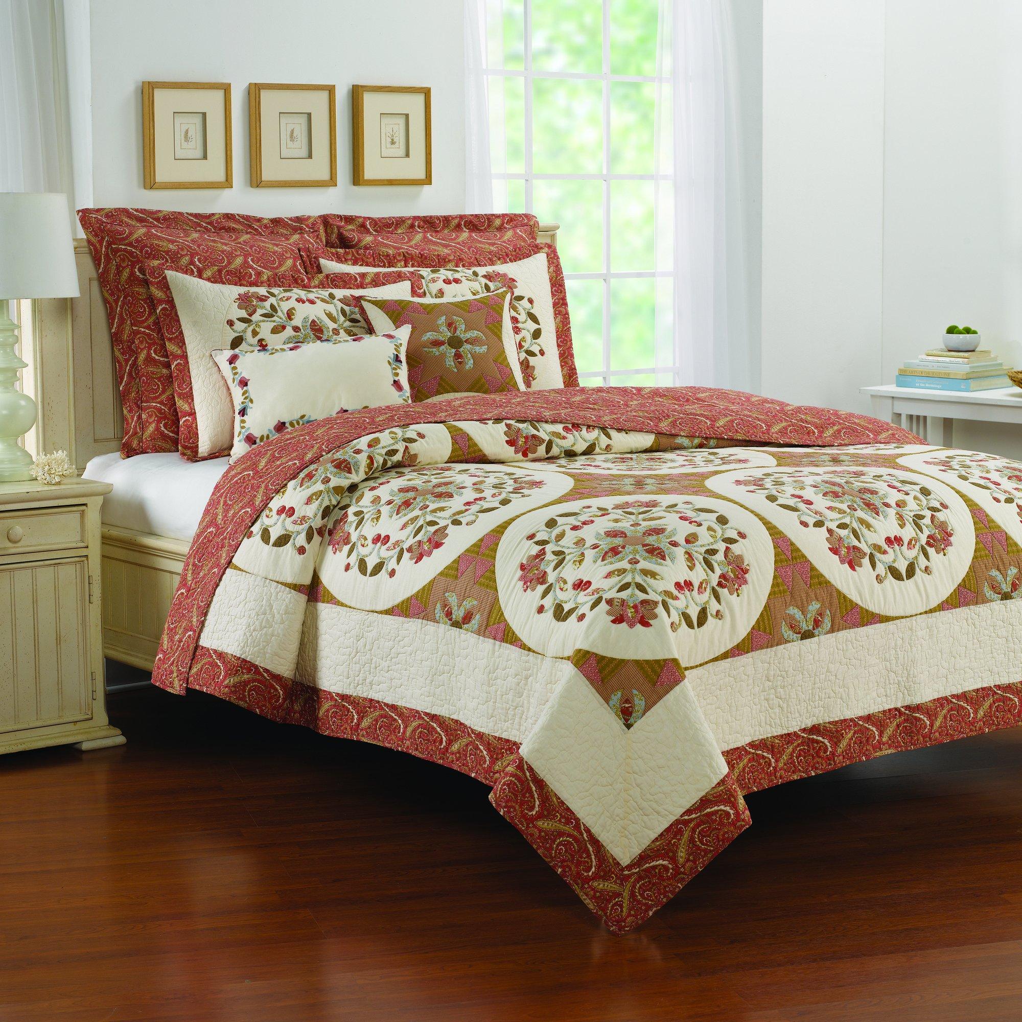 Nostalgia Home 754605112827 Durham Quilt by Nostalgia Home
