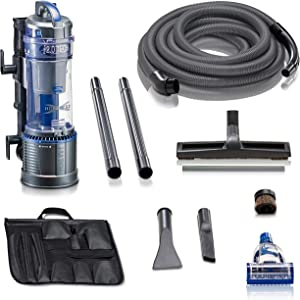 Prolux 2.0 Powerful Wall Mountable Bagless Garage Vacuum w/Attachments and 5 YR Warranty