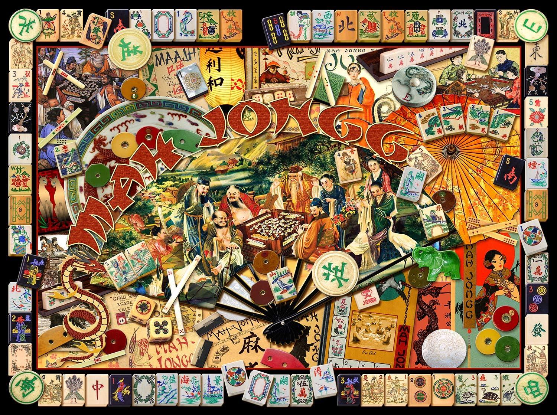 - Amazon.com: Mah Jongg Masters 1000 Pc Jigsaw Puzzle - Mah Jongg