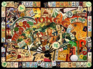 product image for Mah Jongg Masters 1000 pc Jigsaw Puzzle - Mah Jongg Collage - by SunsOut