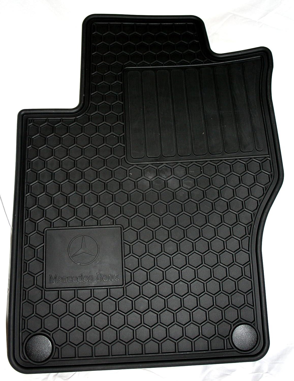 Floor mats mercedes - Amazon Com Genuine Mercedes Benz Q6680686 Rubber Floor Mats W164 Ml320 Ml350 Ml550 Black Automotive