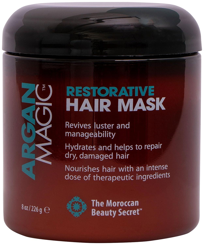 Amazon Com Argan Magic Restorative Hair Mask Protein Rich