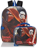 Disney Boys' Kylo Ren and Stormtrooper Backpack with Lunch Kit