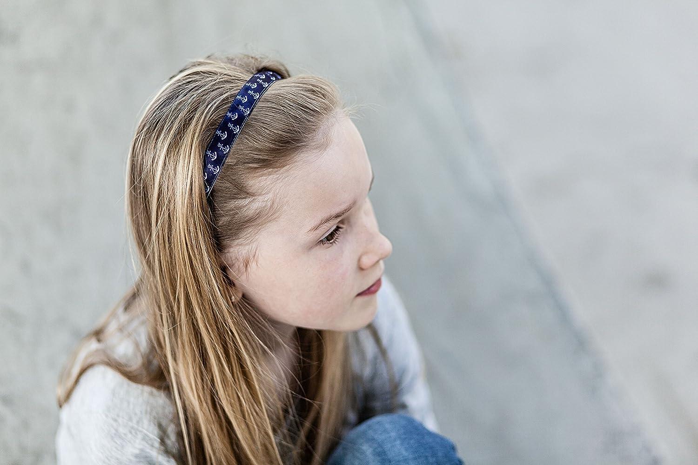 Kinderhaarband IKID041 Blue Dots Ivybands Kids Anti-Rutsch Haarband f/ür Kinder