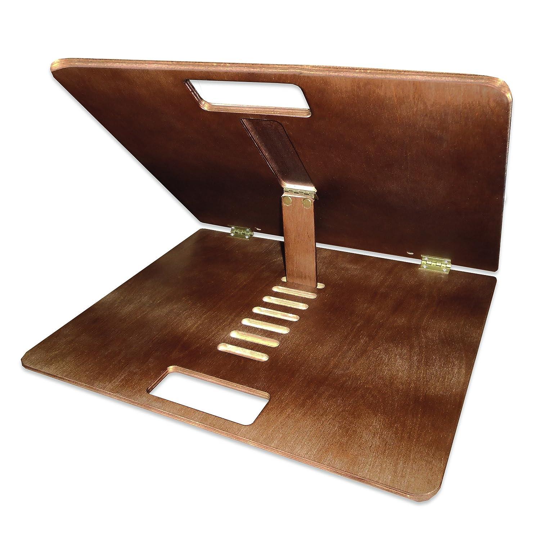Rehabilitation Advantage Portable Desktop Easel Activity Adjustable Folding Tray Table