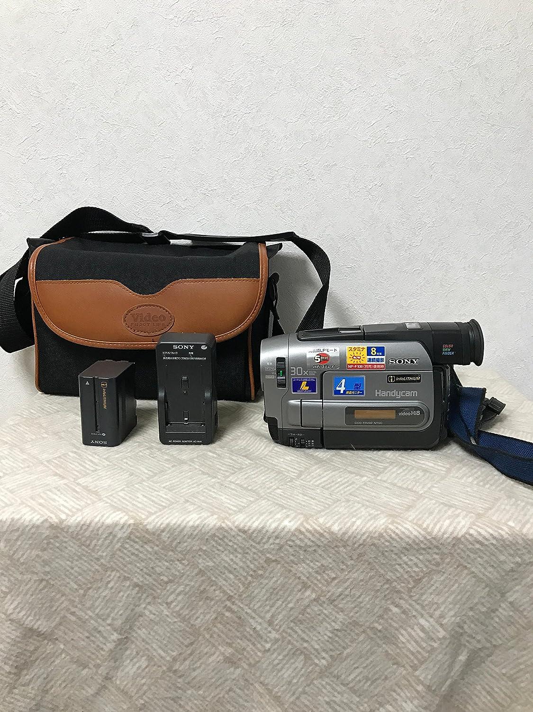 SONY ソニー CCD-TRV92 ハイエイトビデオカメラ (VideoHi8/8mmビデオカメラ/ハンディカム) Hi8方式   B014EUT750