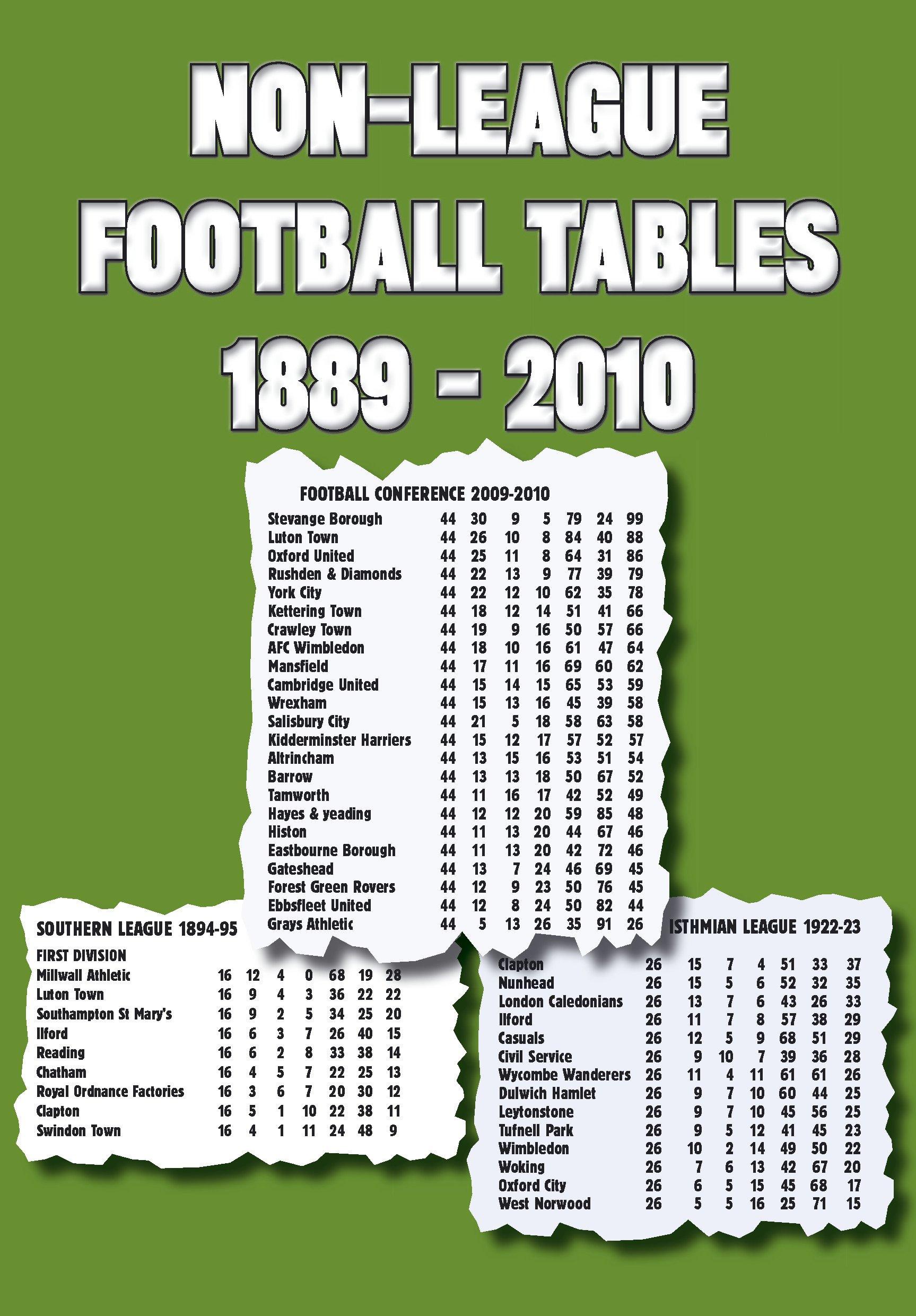Non-League Football Tables 1889-2010 ebook