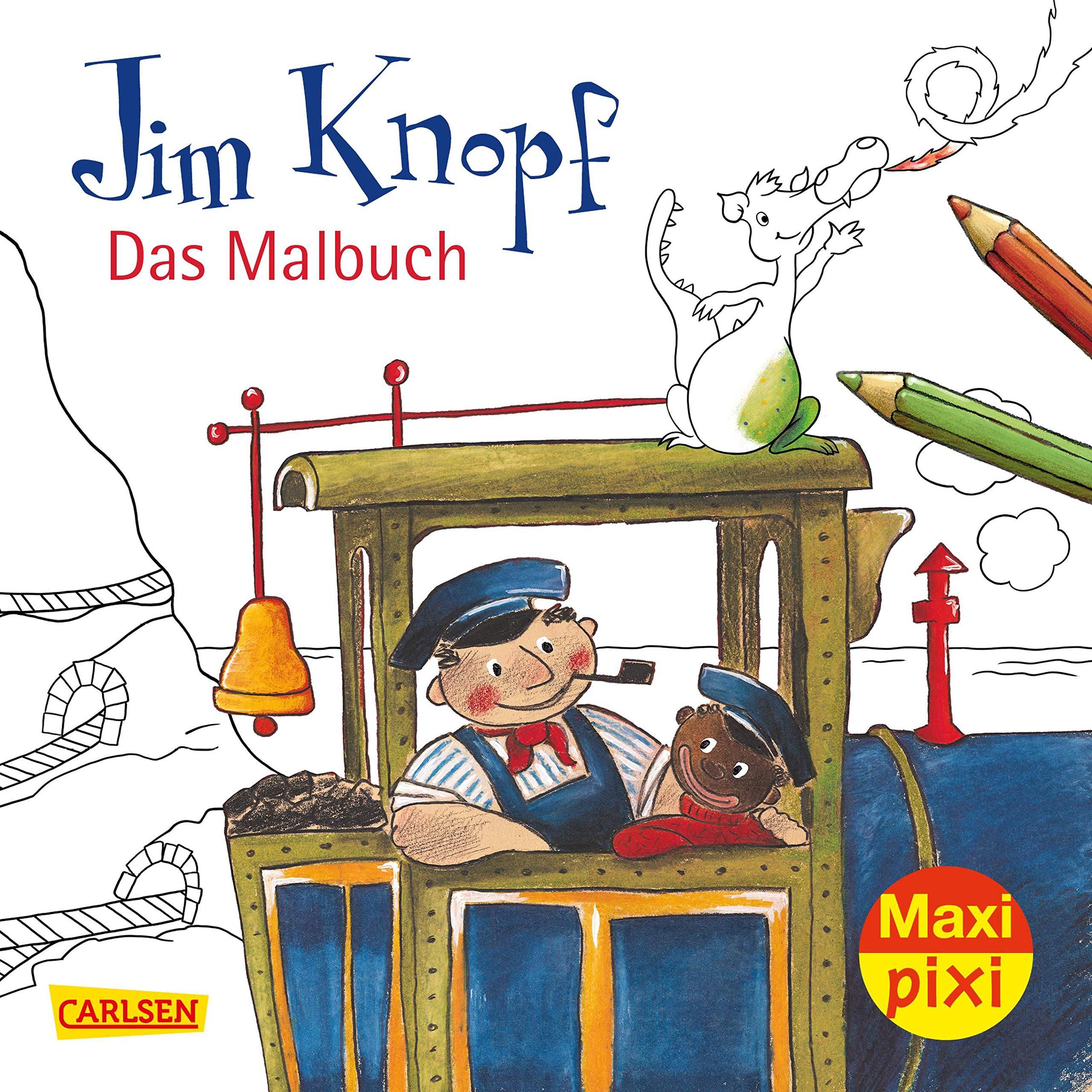 Ve 5 Jim Knopf Malbuch 5 Exemplare Maxi Pixi Band 269 Amazon De Ende Michael Dolling Beate Weber Mathias Dolinger Igor Tripp F J Bucher