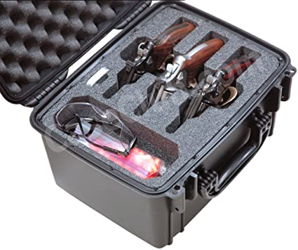 Amazon com : Case Club Waterproof 3 Revolver/Semi-Auto Case