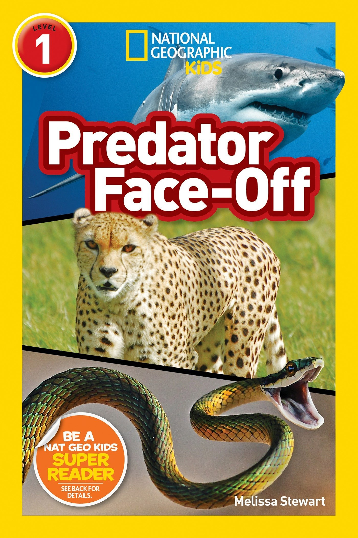 Read Online National Geographic Readers: Predator Face-Off pdf epub