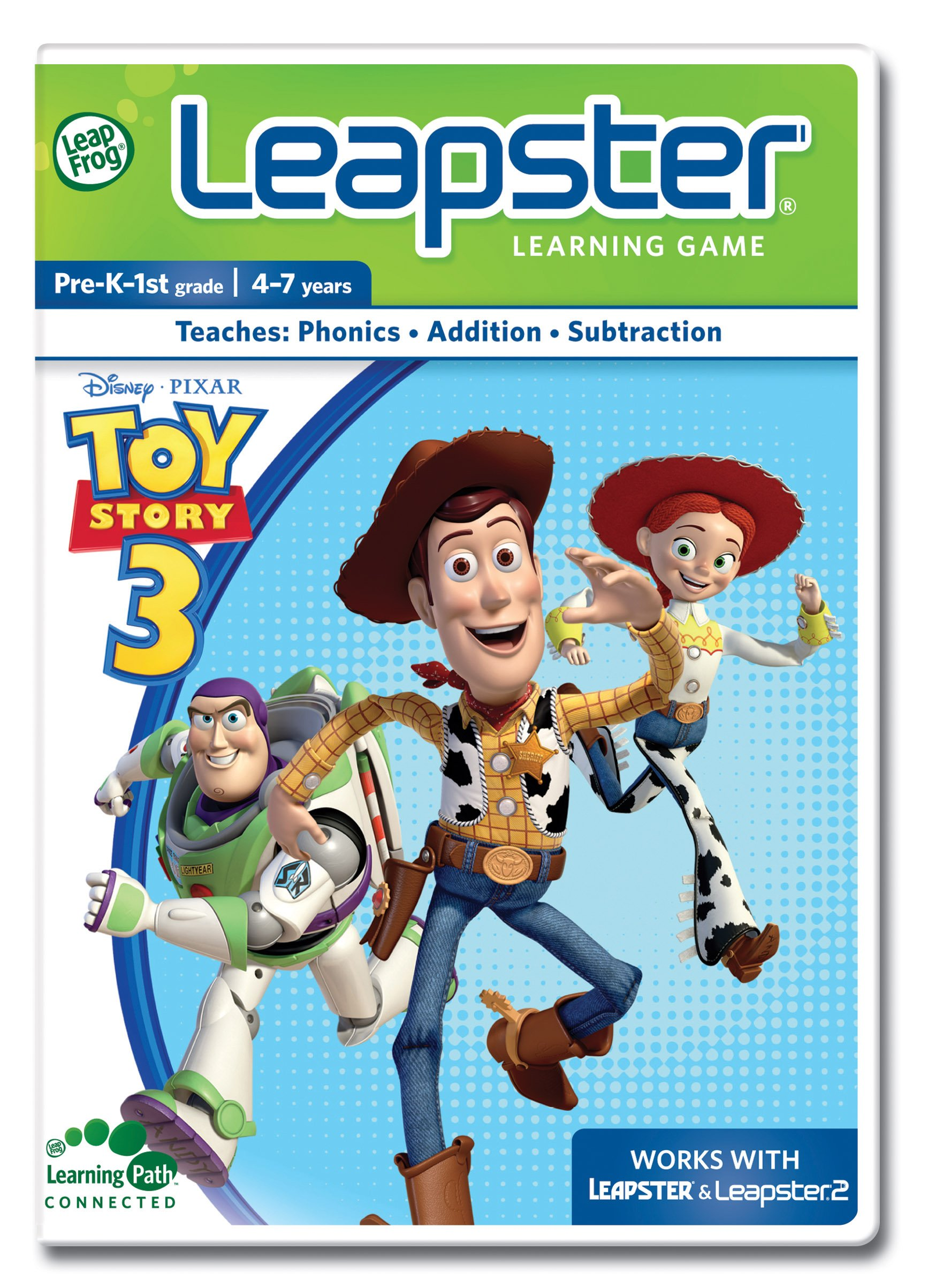 LeapFrog Leapster Learning Game: Toy Story 3 by LeapFrog (Image #1)
