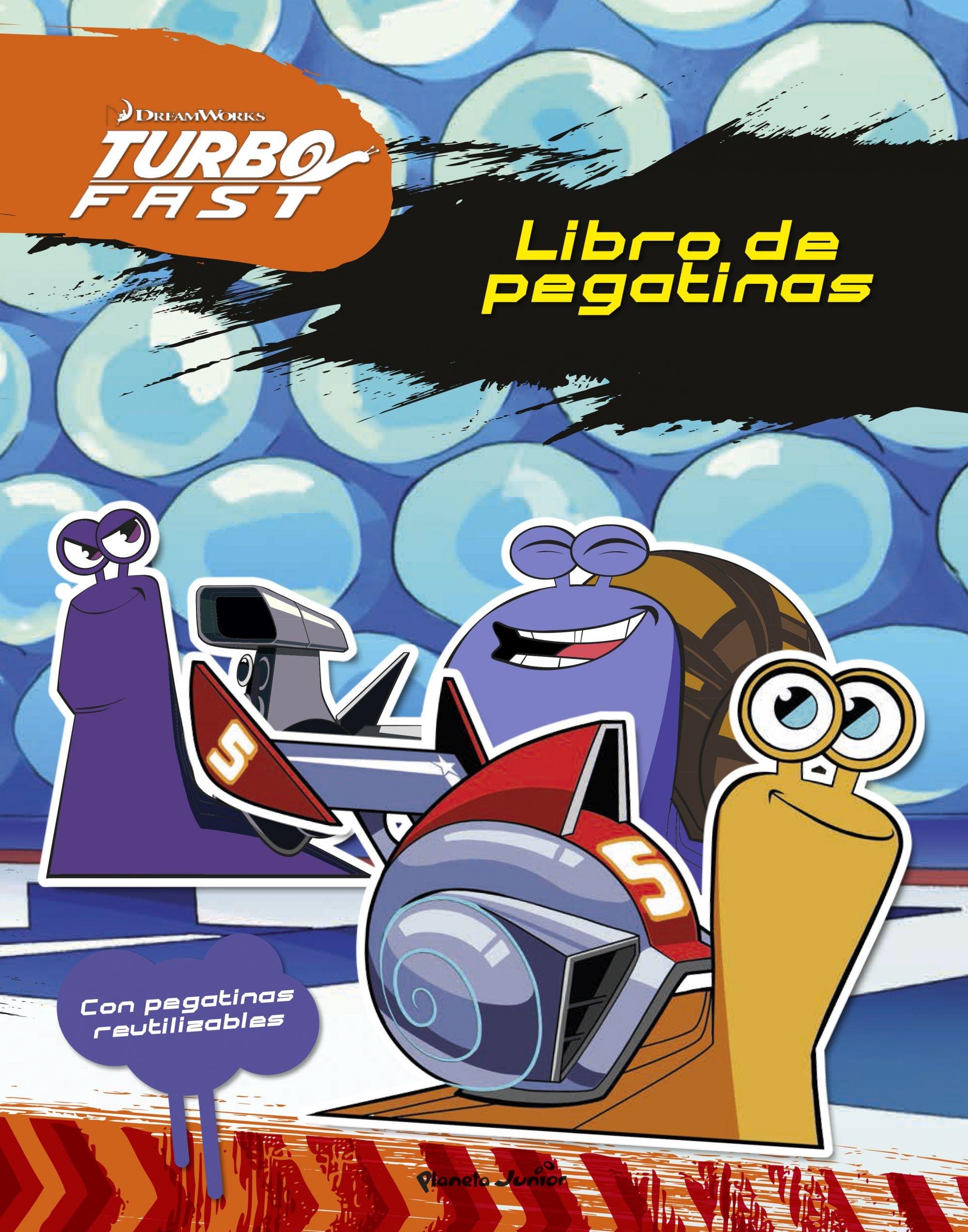 Turbo Fast. Libro de pegatinas: Con pegatinas reutilizables: Amazon.es: Dreamworks: Libros
