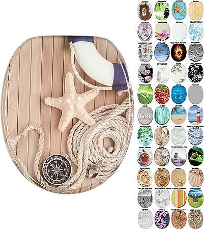 Sedile WC Vecchio Albero grande scelta di belli sedili WC da legno robusto e di alta qualit/à