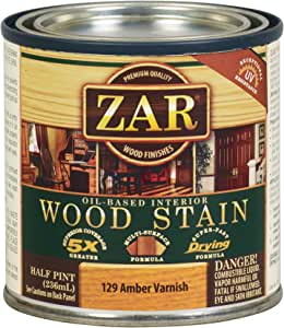 Zar 12906 Wood Stain Aged Varnish Amber Stain Amazon