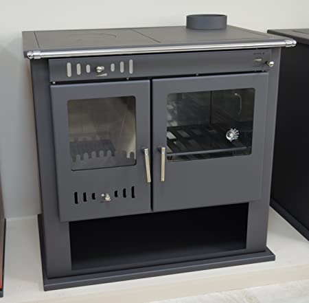 Wood Burning Stove Cooker Fireplace for Central Heating System Oven ...