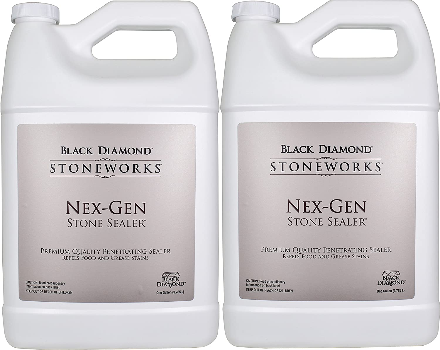 Amazon.com: Black Diamond Nex Gen Natural Stone Penetrating Sealer: Seals U0026  Protects; Granite, Marble, Travertine, Limestone, Concrete, Grout, Tile,  Brick, ...